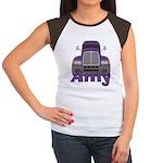 Trucker Amy Women's Cap Sleeve T-Shirt