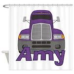 Trucker Amy Shower Curtain