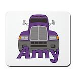 Trucker Amy Mousepad