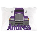 Trucker Andrea Pillow Case