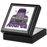Trucker Andrea Keepsake Box