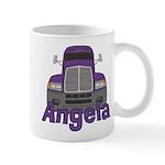 Trucker Angela Mug