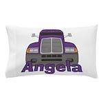 Trucker Angela Pillow Case