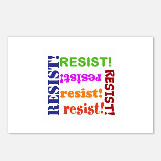 Resist! Join the resistance Postcards (Package of