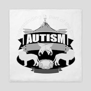 autismsym Queen Duvet