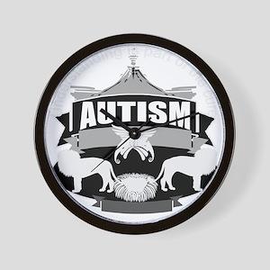 autismsym Wall Clock