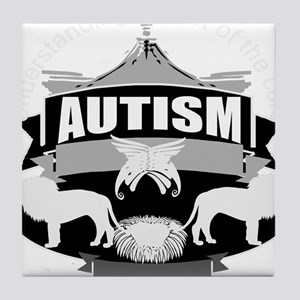 autismsym Tile Coaster