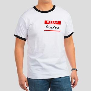 Madea, Name Tag Sticker Ringer T