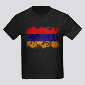 Armenia Flag Kids Dark T-Shirt