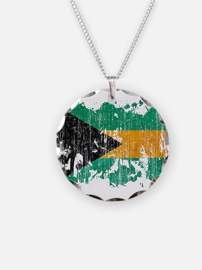 Bahamas Flag Necklace
