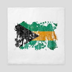 Bahamas Flag Queen Duvet