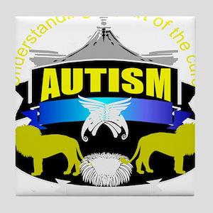 autismsymcolor Tile Coaster