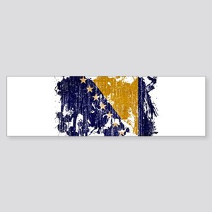 Bosnia and Herzegovina Flag Sticker (Bumper)