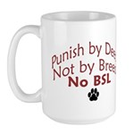 Punish By Deed Large Mug