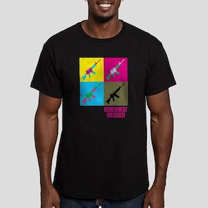 Achievement unlocked! Men's Fitted T-Shirt (dark)