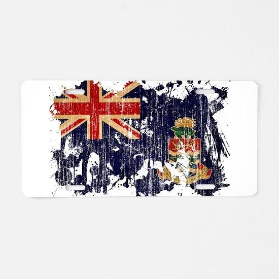 Cayman Islands Flag Aluminum License Plate