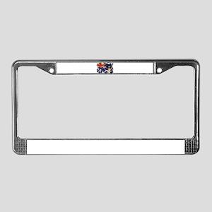 Cayman Islands Flag License Plate Frame