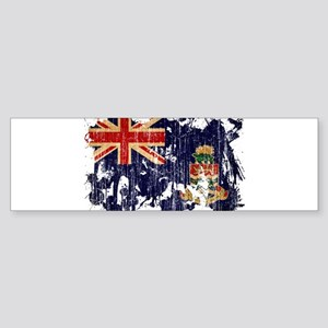 Cayman Islands Flag Sticker (Bumper)