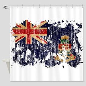 Cayman Islands Flag Shower Curtain
