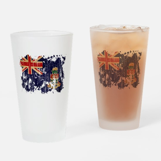 Cayman Islands Flag Drinking Glass