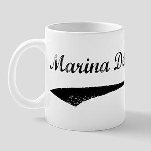 Marina Del Rey - Vintage Mug
