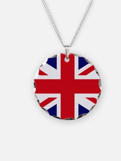 British Flag Union Jack Necklace