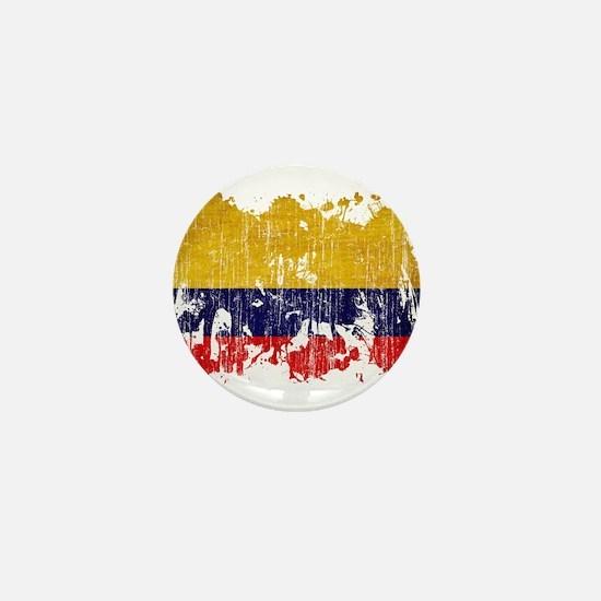 Colombia Flag Mini Button