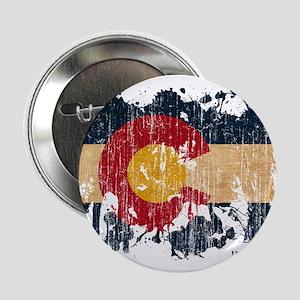 """Colorado Flag 2.25"""" Button"""