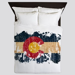 Colorado Flag Queen Duvet