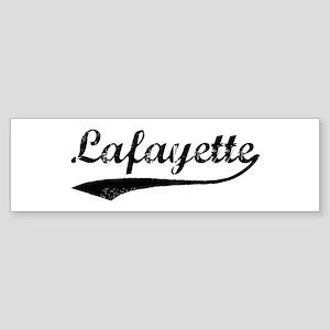 Lafayette - Vintage Bumper Sticker