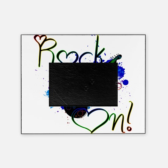 Rock On Picture Frame