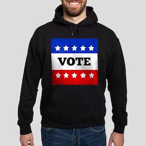 Vote, Super Block Star Hoodie (dark)