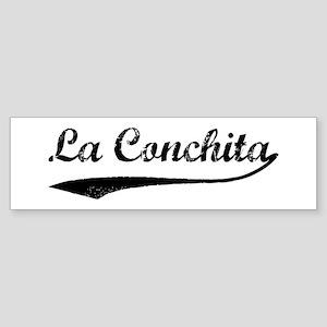La Conchita - Vintage Bumper Sticker