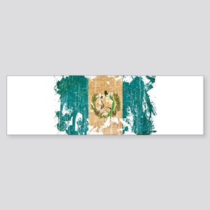 Guatemala Flag Sticker (Bumper)