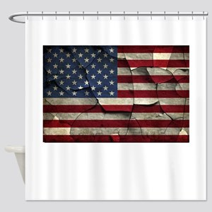 Divided States of America Shower Curtain