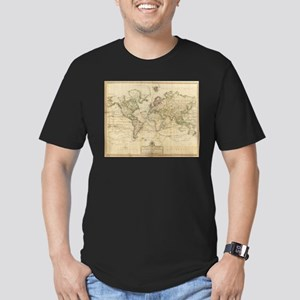 Vintage Map of The World (1800) T-Shirt