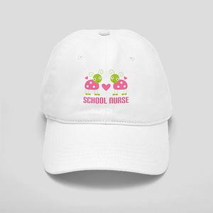 School Nurse Ladybug Cap
