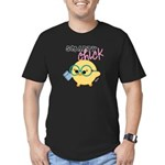 smarty dark Men's Fitted T-Shirt (dark)