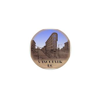 Vancouver Gastown Souvenir Mini Button (100 pack)