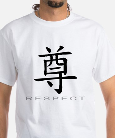 Chinese Character Respect Mens Clothing