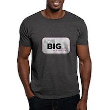 Live Big with Ali Vincent Dark T-Shirt