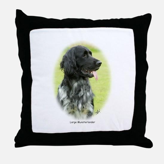Large Munsterlander 9W020D-065 Throw Pillow