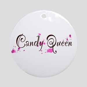 Candy Queen Ornament (Round)