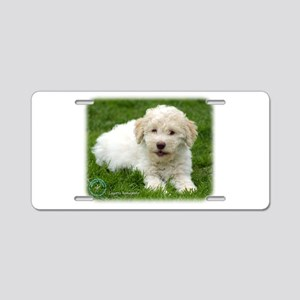 Lagotto Romagnollo 8T19D-12 Aluminum License Plate