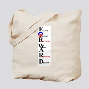 FORWARD OBAMA Tote Bag