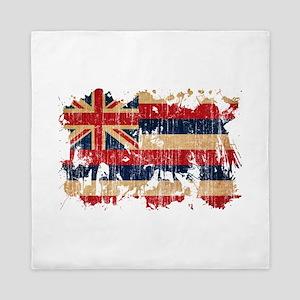 Hawaii Flag Queen Duvet