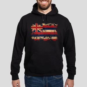 Hawaii Flag Hoodie (dark)