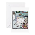 Sheep Plumber butt crack Greeting Cards (Pk of 20)