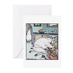 Sheep Plumber butt crack Greeting Cards (Pk of 10)