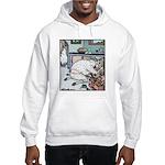 Sheep Plumber butt crack Hooded Sweatshirt